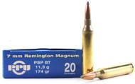 Surplus Ammo | Surplusammo.com 7mm Rem. Mag. 174 Grain PSP Prvi Partizan PPU - 20 Rounds  (PP7.72)