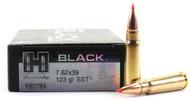 Surplus Ammo | Surplusammo.com 7.62x39 123 Grain SST Hornady Black Ammunition