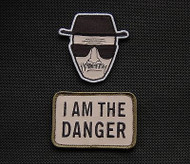 Surplus Ammo | Surplusammo.com Multicam Heisenberg & I Am The Danger Morale Patch Se