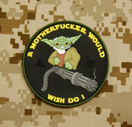 Surplus Ammo | Surplusammo.com Tactical Yoda PVC Morale Patch