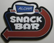Surplus Ammo | Surplusammo.com Aloha Snack Bar PVC Velcro Morale Patch