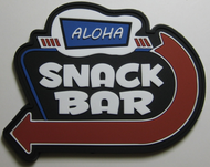 Surplus Ammo | Surplusammo.com Aloha Snack Bar PVC Velcro Morale Patch
