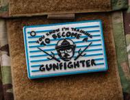 Surplus Ammo | Surplusammo.com Training GunFighter Color PVC Morale Patch