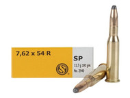 Surplus Ammo | Surplusammo.com 7.62x54R 180 Grain SP Sellier & Bellot - 20 Rounds SB76254RB