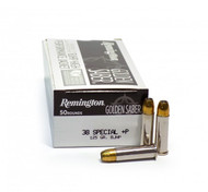 Surplus Ammo | Surplusammo.com 38 Special 125 Grain BJHP + P Remington Golden Saber