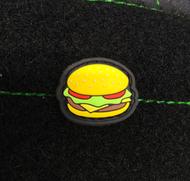 Surplus Ammo | Surplusammo.com Cheeseburger Glow in the Dark Cat Eye PVC Morale Patch