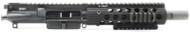 "Surplus Ammo   Surplusammo.com SAA 8"" 5.56 NATO Free Float Troy ALPHA7 Series Complete AR-15 NFA/Pistol Upper Receiver"