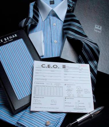 Ike Behar CEO Custom Express Original Executive Shirt