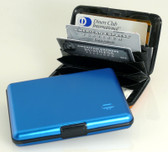 OGON Designs Aluminum Large Wallet - Blue
