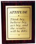 Attitude Plaque