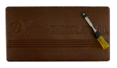 Blommer's GiANT 10 lb Dark Chocolate Bar