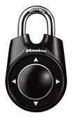 1500iD Combination Speed Dial Padlock - Black