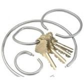 "Tamper-Proof Key Rings 279 - 1"" (3cm)"
