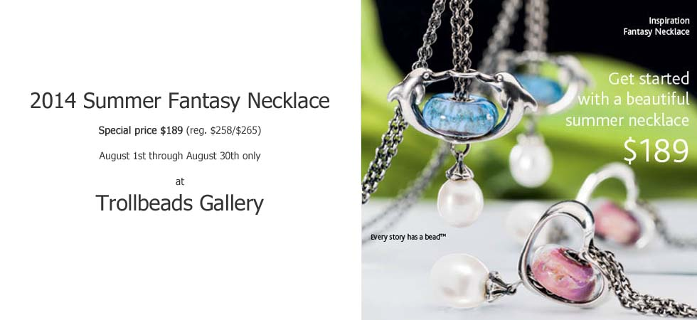 2014 Summer Fantasy Trolbeads Necklace