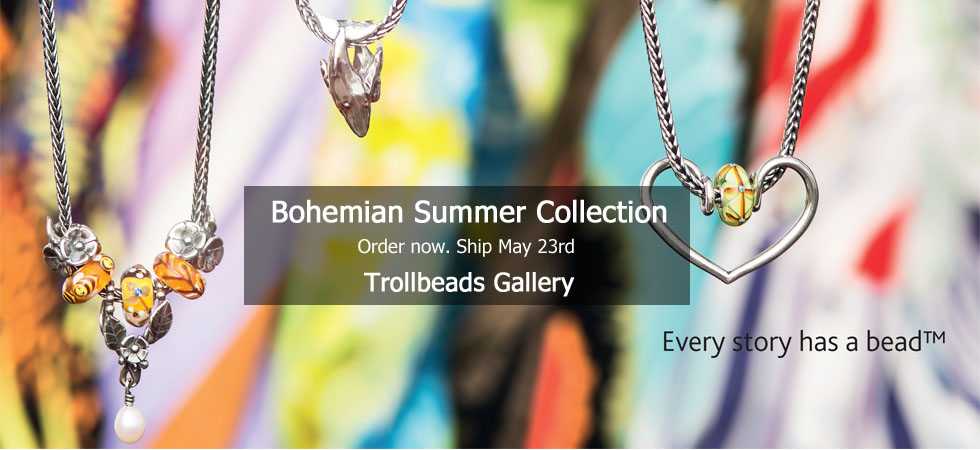 Bohemian Summer Collection Trollbeads Gallery