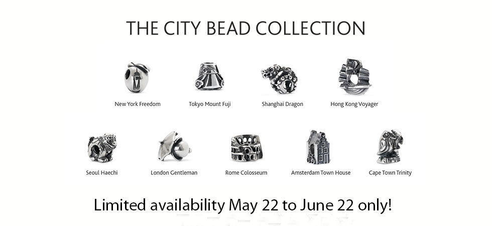 City Bead Collection at Trollbeads Gallery