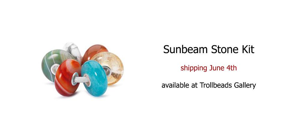 Trollbeads Sunbeam Stone kit  at Trollbeads Gallery