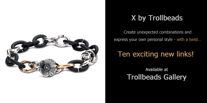 Ten new links from X by Trollbeads