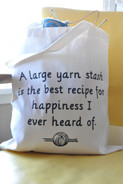 Yarn Stash Canvas Bag