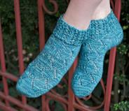 Hex Socks Pattern        HARDCOPY