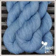 Cornflower Filigree Silk