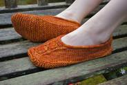 Dinar Slippers Pattern        HARDCOPY
