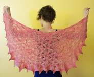 Calico Shawl Pattern HARDCOPY