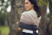 JuJuy Shawl Pattern HARDCOPY (by Joji)