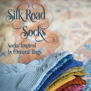 Silk Road Socks (2nd edition) by Hunter Hammersen - paperback book