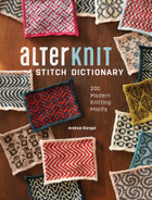 Alterknit Stitch Dictionary, by Andrea Rangel - hardcover book