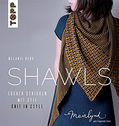 Shawls: Knit in Style by Melanie Berg - hardcover book