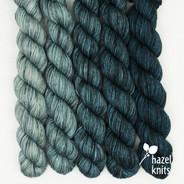 Blue Ombre' Entice set (5 x 105 yards)