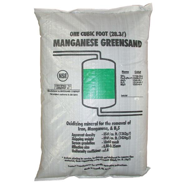 Manganese Greensand Filter Media Water Treatment