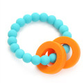 Chewbeads Baby Mulberry Teether - Turquoise