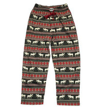 Lazy One Moose Fair Isle Unisex Pant