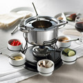 Trudeau 3 in 1 Lazy Susan Fondue Set