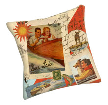 Meissenburg Personalized Indoor-Outdoor Lake Pillows
