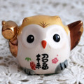 Japanese Feng Shui Lucky Owl - Good Fortune