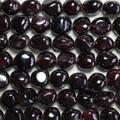 """16"""" Semi-Precious Gemstone Beads Garnet Nuggets 14mm"""
