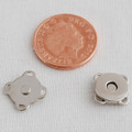 5 Sets Extra Thin Sew On Magnetic Bag Clasp Button - 11mm