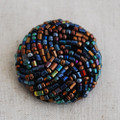 Hand Beaded Button - 3cm