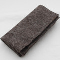 100% Wool Felt Fabric - Approx 1mm Thick - Natural Brown - 45cm x 50cm