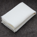 100% Wool Felt Fabric - Approx 1mm Thick - Ivory White - 40cm x 50cm