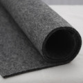 100% Wool Felt Fabric - Approx 3mm Thick - Natural Dark Grey - 92cm x 50cm