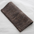 "Handmade 100% Wool Felt Sheet - Approx 5mm Thick - 12"" Square - Brown Mix"