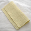 "Handmade 100% Wool Felt Sheet - Approx 5mm Thick - 12"" Square - Cream"