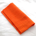 "Handmade 100% Wool Felt Sheet - Approx 5mm Thick - 12"" Square - International Orange"