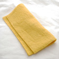 "Handmade 100% Wool Felt Sheet - Approx 5mm Thick - 12"" Square - Mustard Yellow"