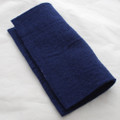 "Handmade 100% Wool Felt Sheet - Approx 5mm Thick - 12"" Square - Navy Blue"