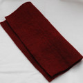 "Handmade 100% Wool Felt Sheet - Approx 5mm Thick - 12"" Square - Wine Red"